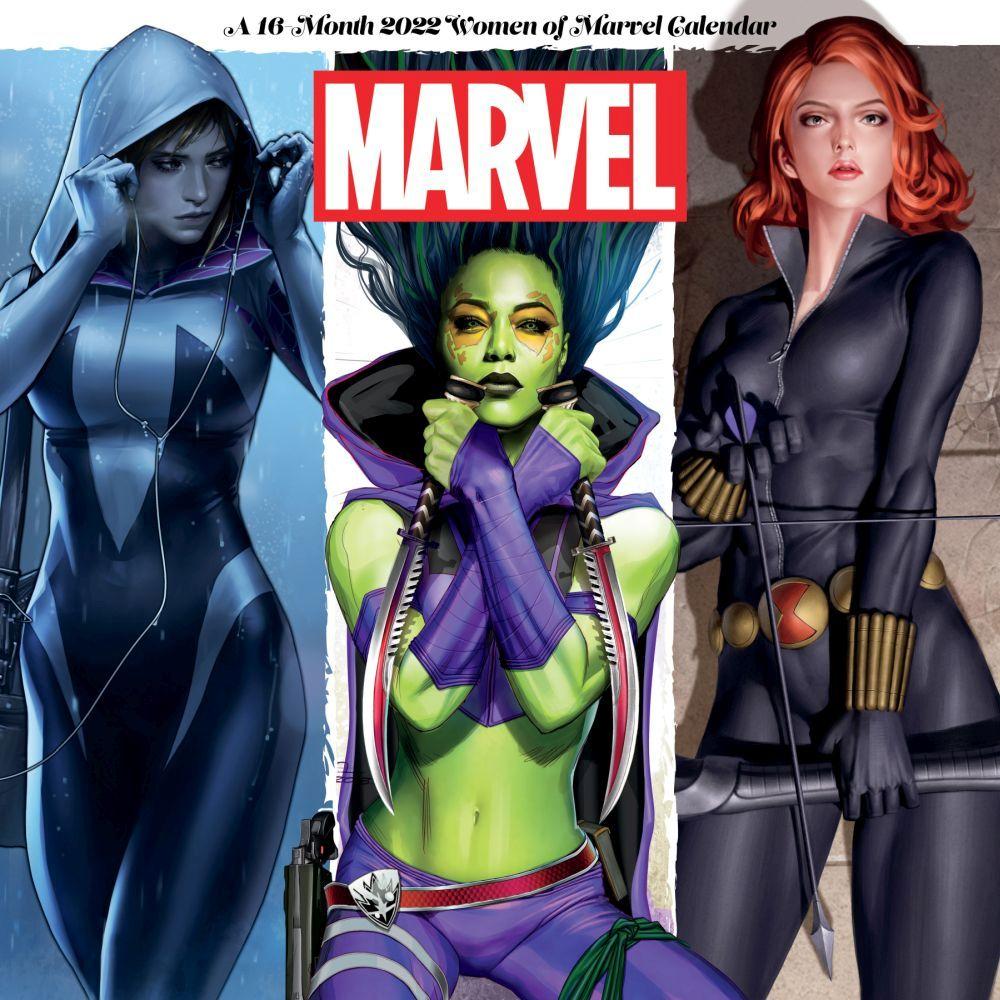 Marvel Women 2022 Wall Calendar