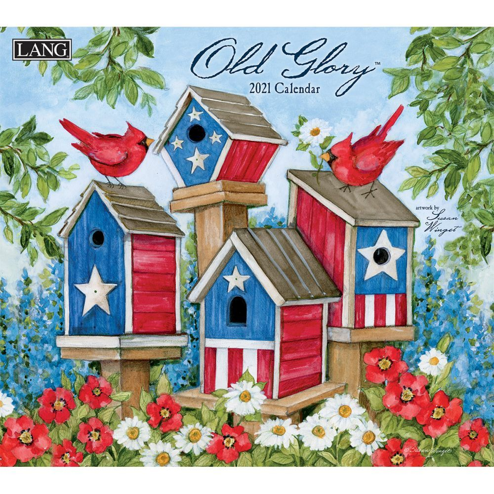 2021 Old Glory Wall Calendar by Susan Winget