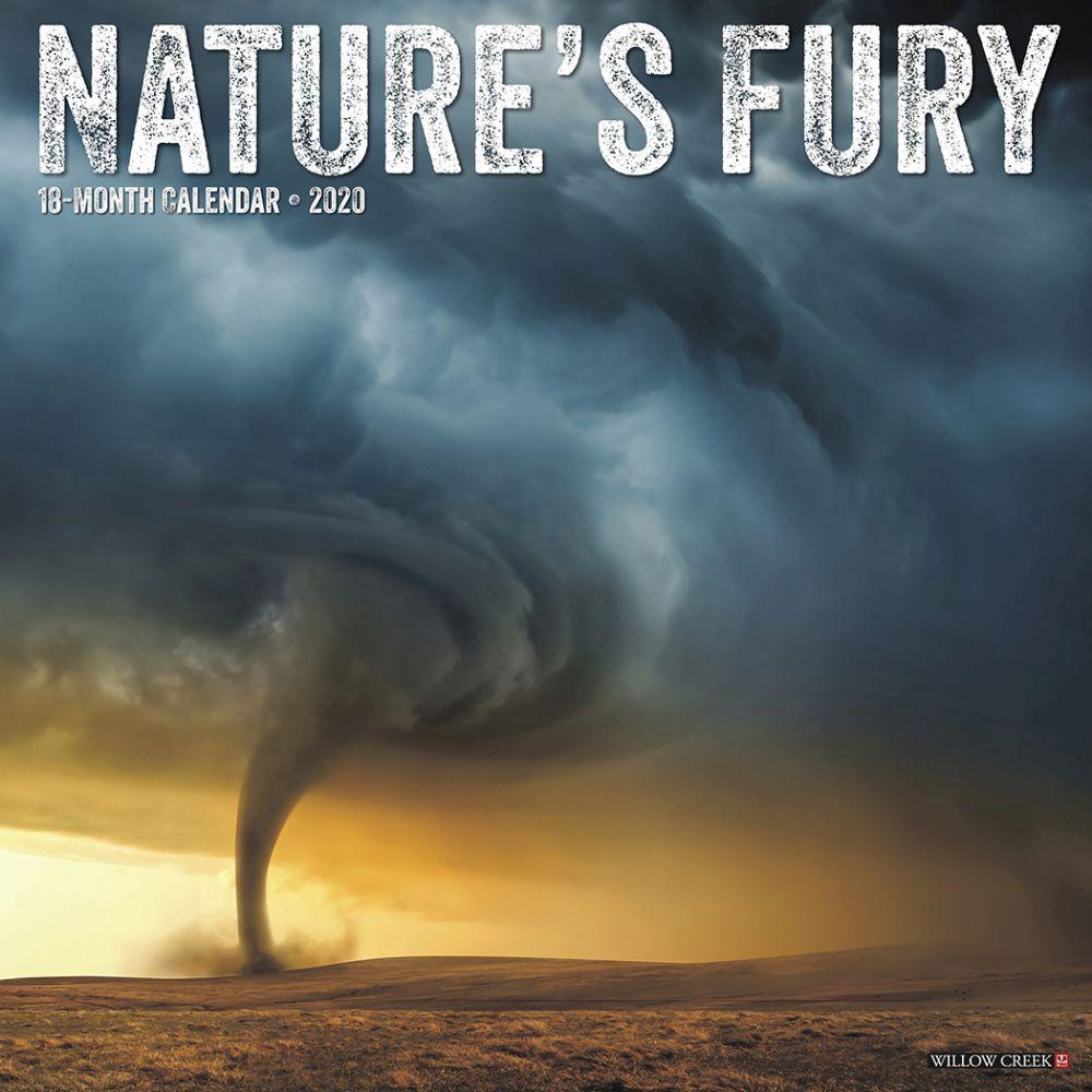 Natures Fury 2021 Wall Calendar