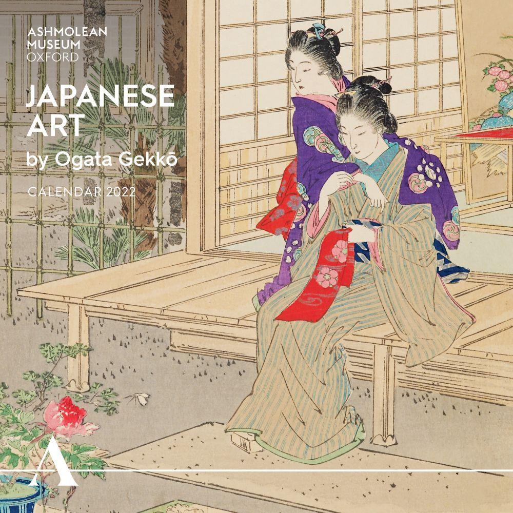 Ashmolean Museum Japanese Landscapes by Ogata Gekko 2022 Wall Calendar