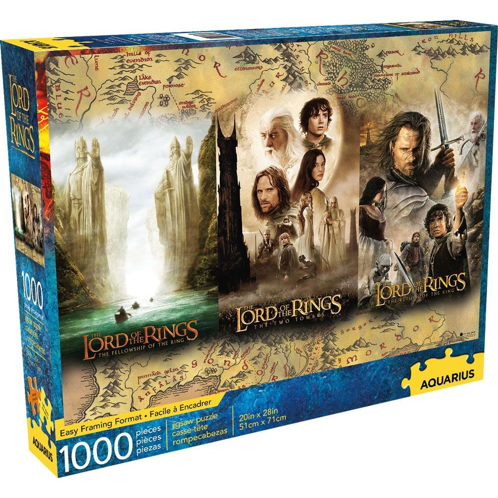 Best Lord of the Rings Triptych 1000pc Puzzle You Can Buy