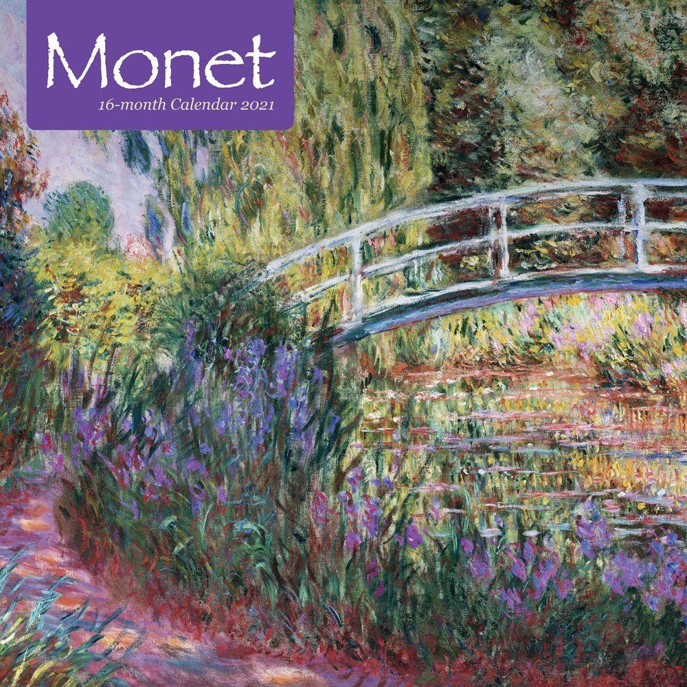 2021 Monet Wall Calendar