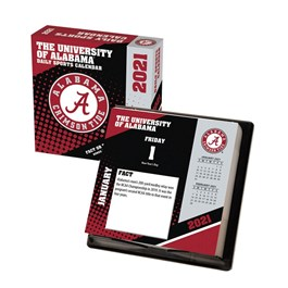 Alabama Crimson Tide Desk Calendar