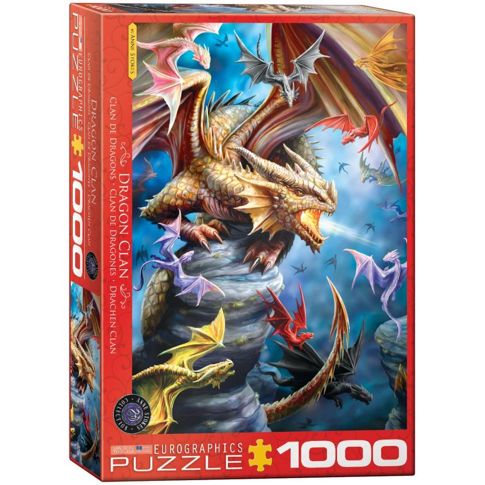 Best Fantasy Dragon Anne Stokes 1000pc Puzzle You Can Buy