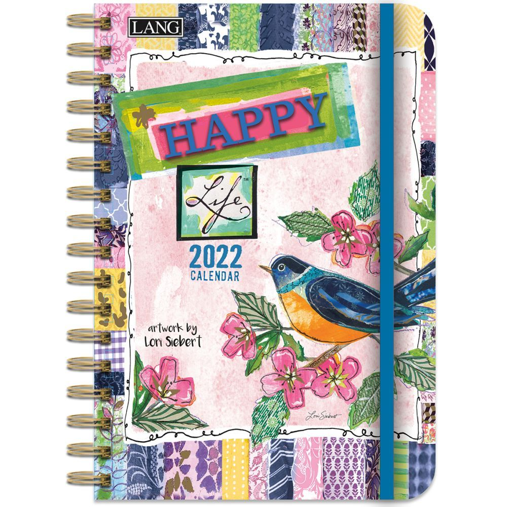 Happy Life 2022 Spiral Engagement Planner