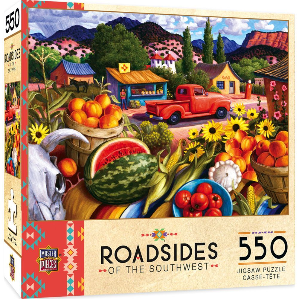 Best Summer Fresh 550pc Puzzle You Can Buy