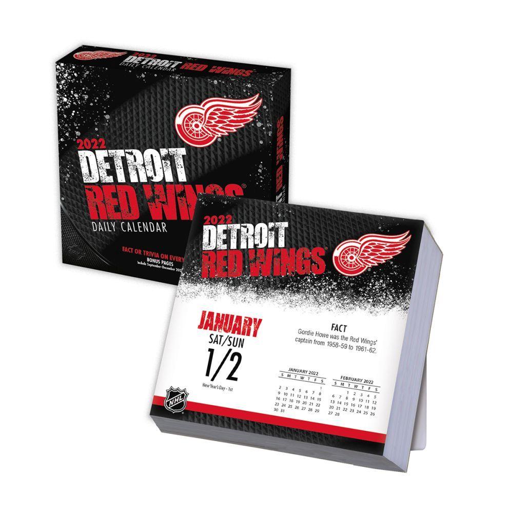Detroit Red Wings 2022 Desk Calendar