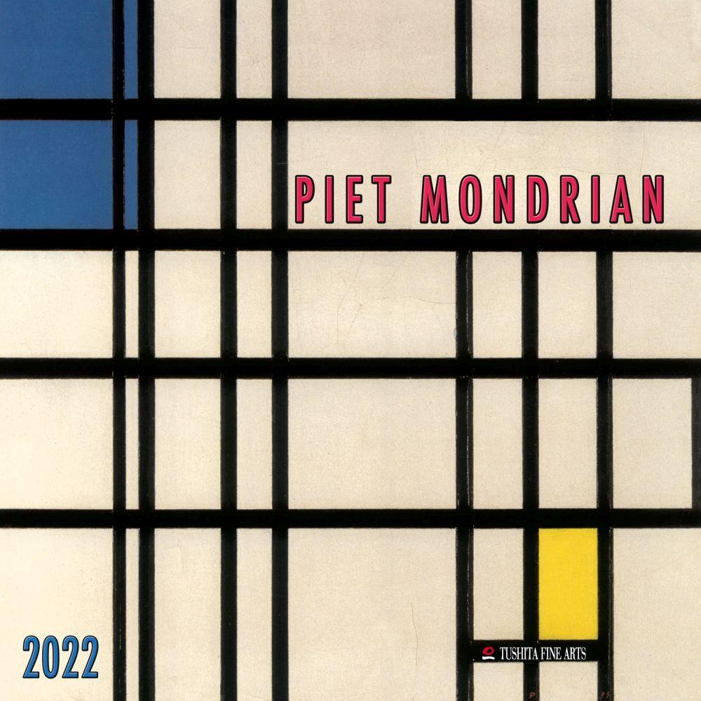 Mondrian 2022 Wall Calendar