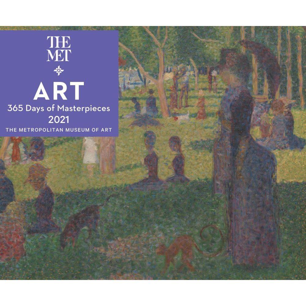 2021 Art 365 Days of Masterpieces Desk Calendar