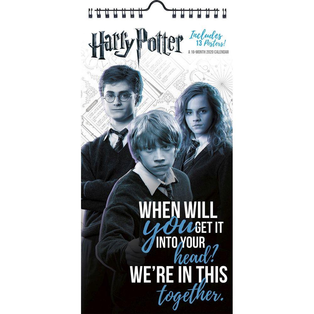 Harry Potter 2021 Vertical Wall Calendar