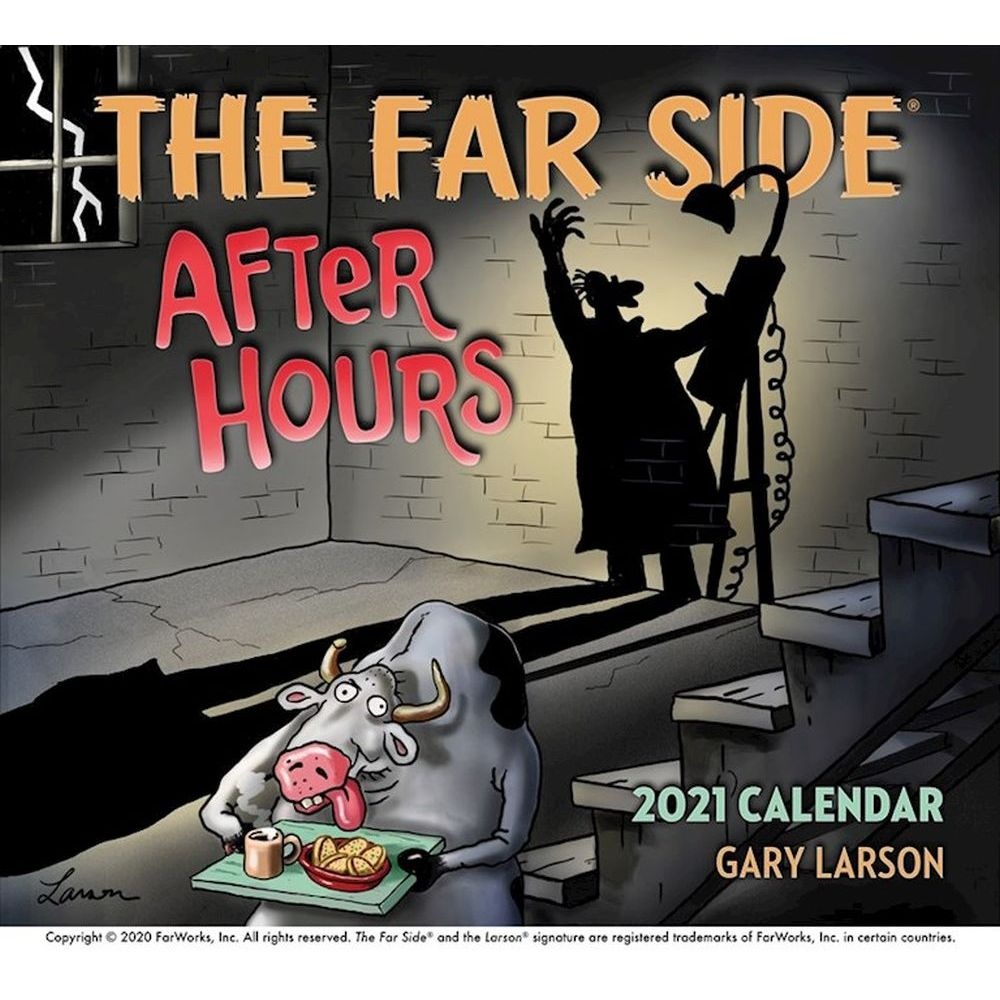 2021 Far Side Wall Calendar