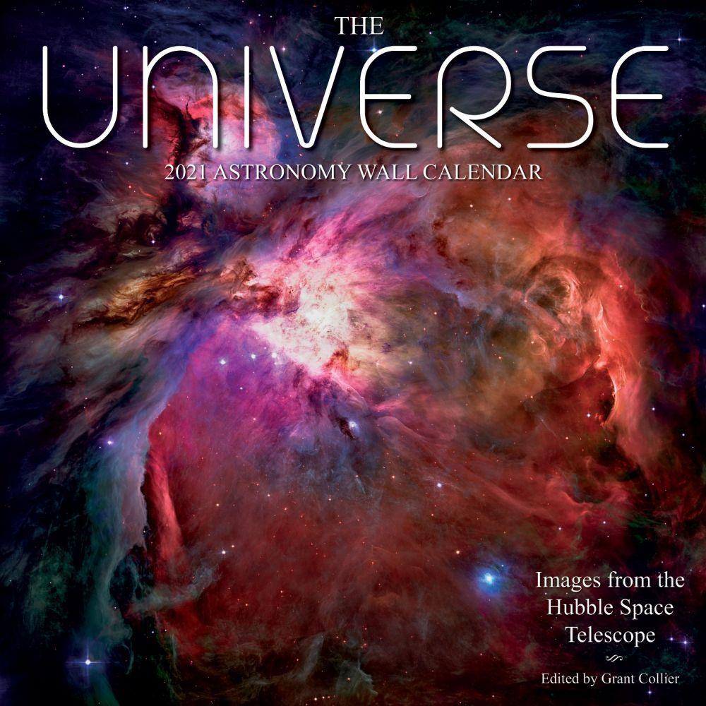 The Universe 2021 Astronomy Wall Calendar