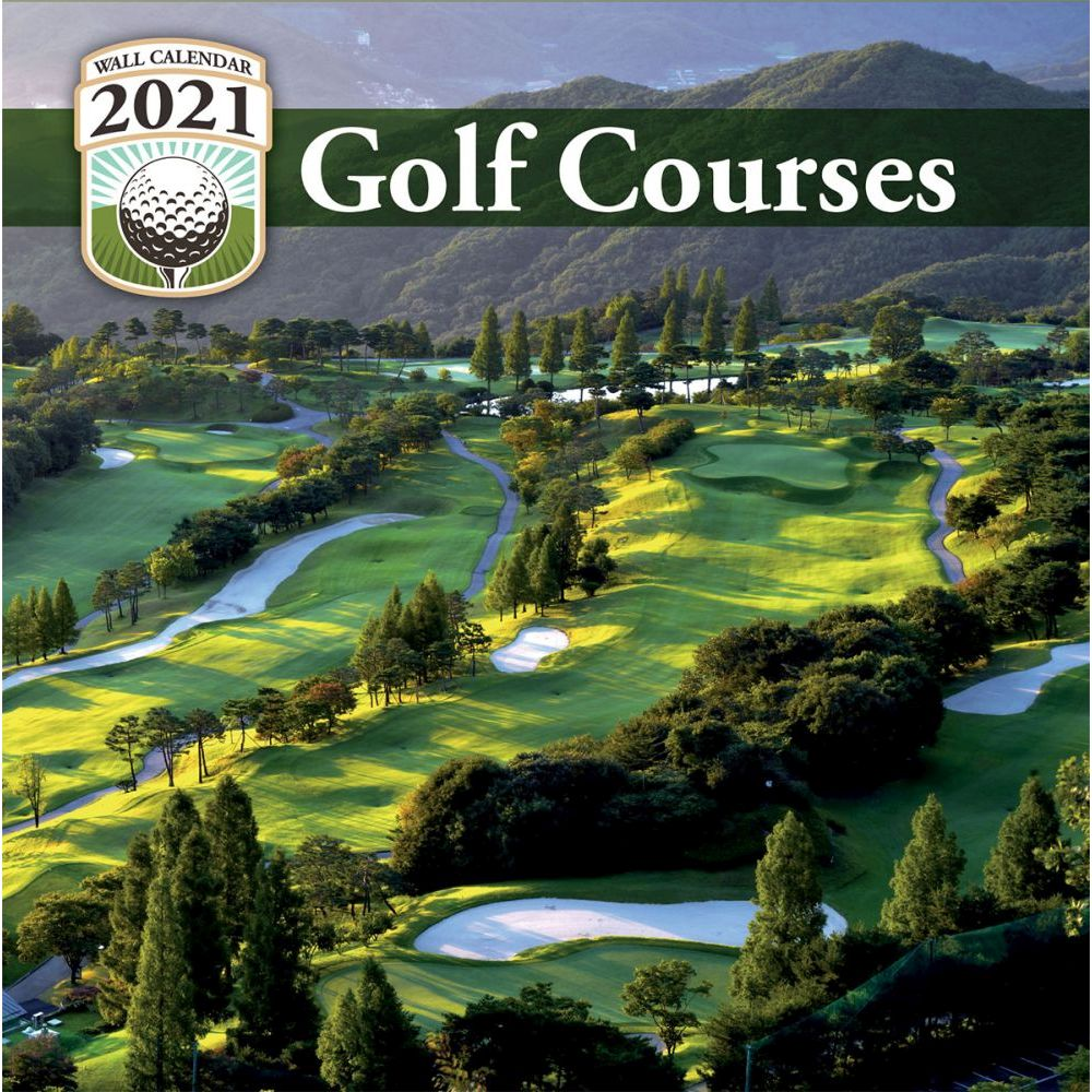 Golf Calendar 2021 Background