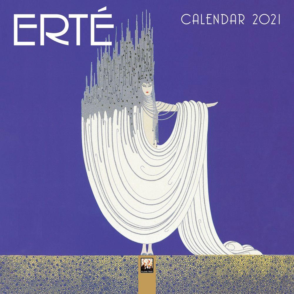 2021 Erte Mini Wall Calendar