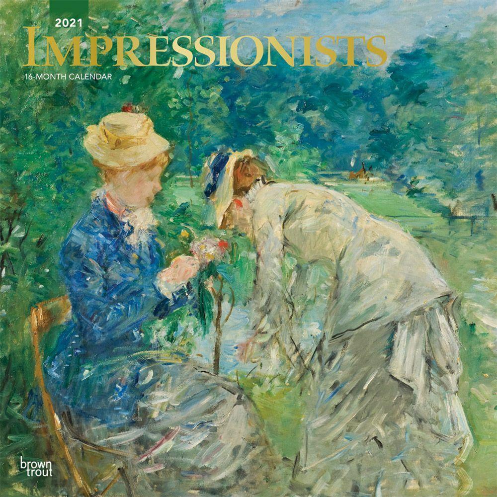 2021 Impressionists Wall Calendar