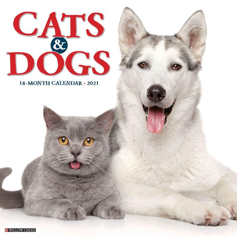 Cats & Dogs 2021 Wall Calendar