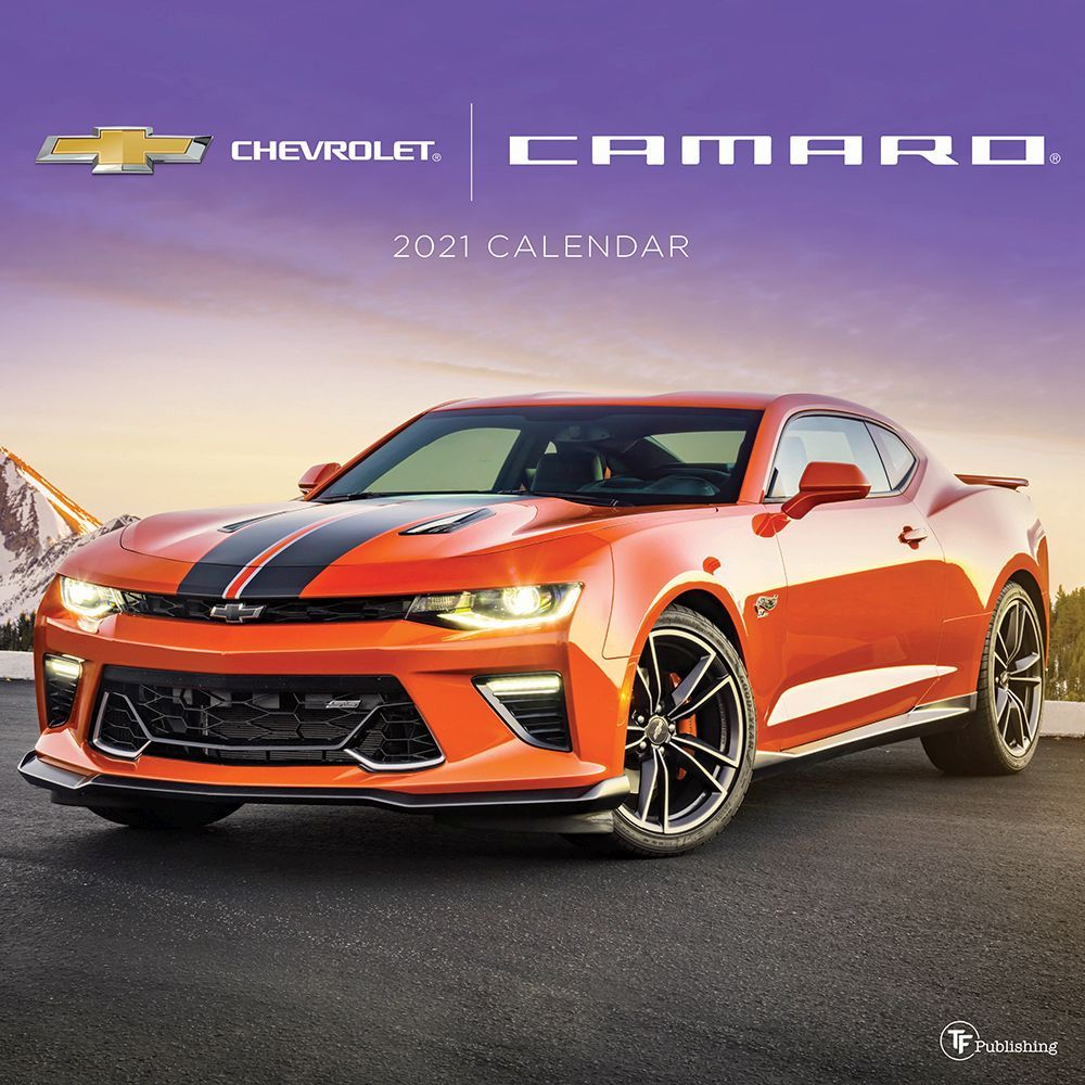 2021 Camaro Wall Calendar