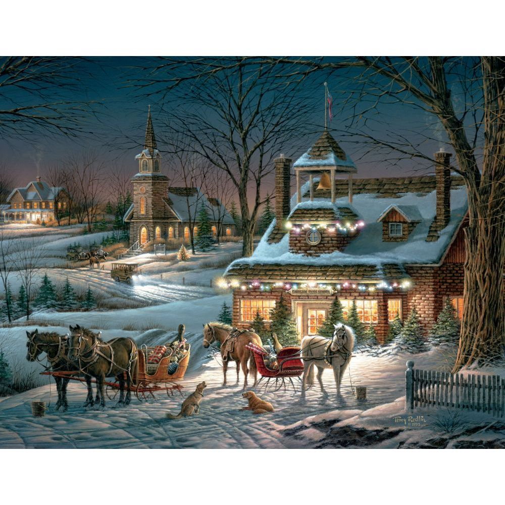 evening-rehearsals-5.375-in-x-6.875-in-assorted-boxed-christmas-cards-image-2