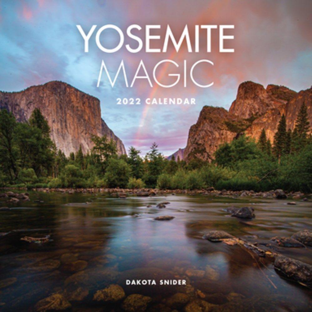 Yosemite Magic 2022 Calendar Wall Calendar
