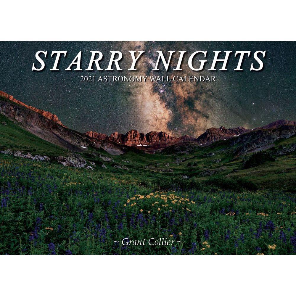 2021 Starry Nights Astronomy Wall Calendar