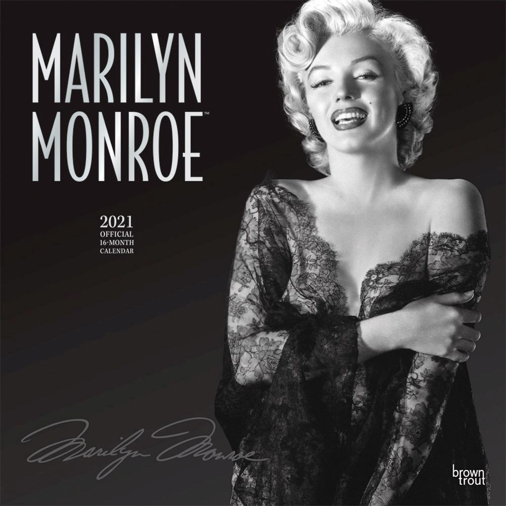Marilyn Monroe 20 Wall Calendar
