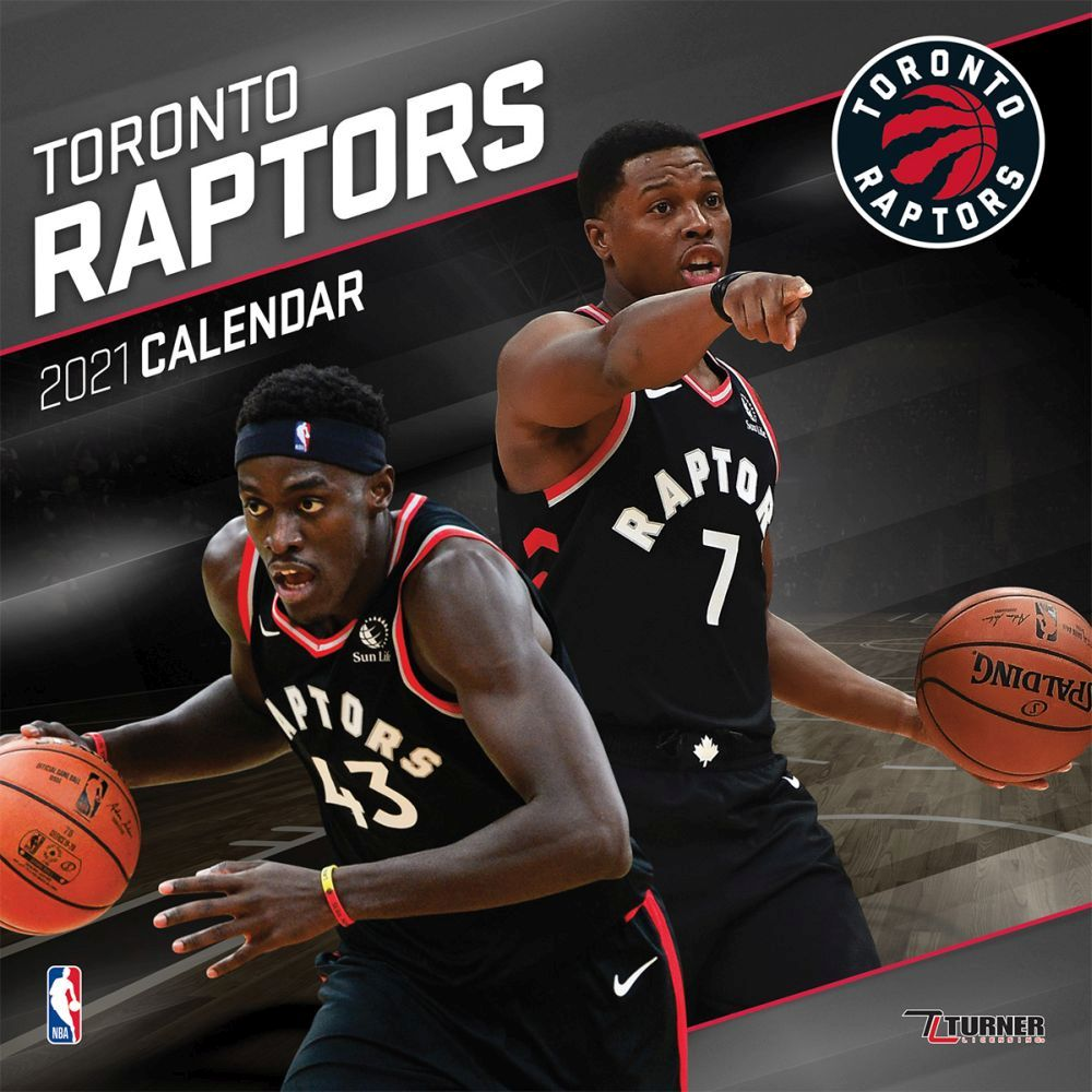 2021 NBA Toronto Raptors Mini Wall Calendar
