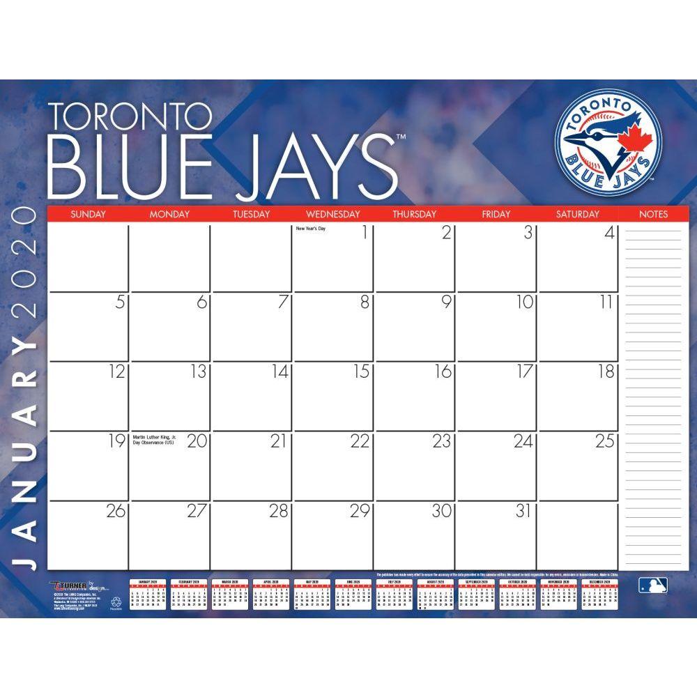 Toronto Blue Jays 2021 Desk Pad
