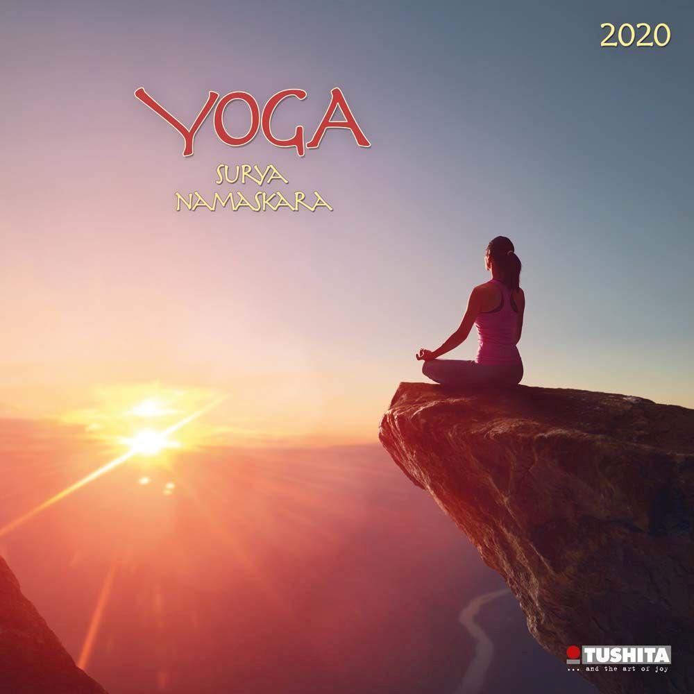 Yoga Suraya Namaskara 2021 Wall Calendar