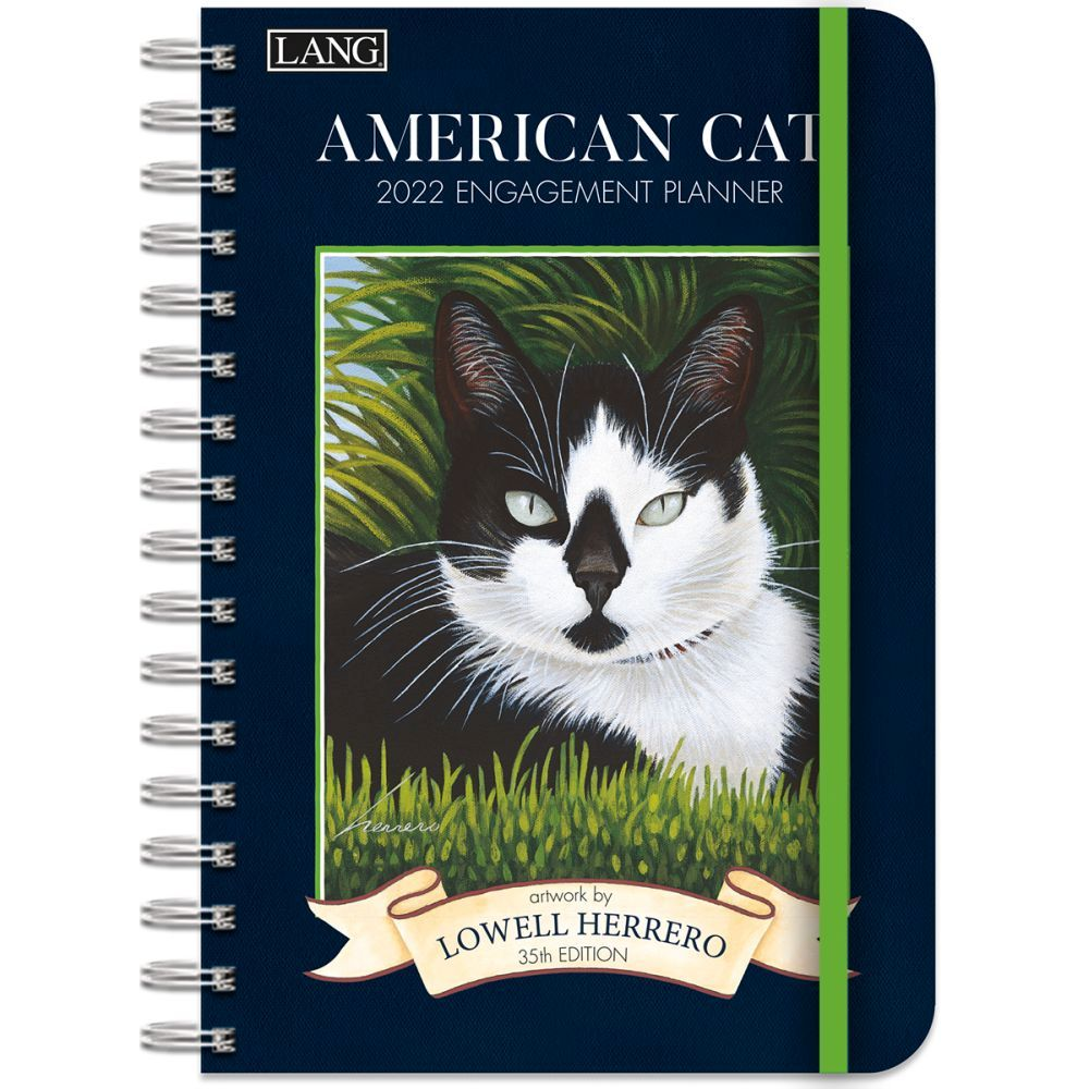 American Cat 2022 Spiral Engagement Planner