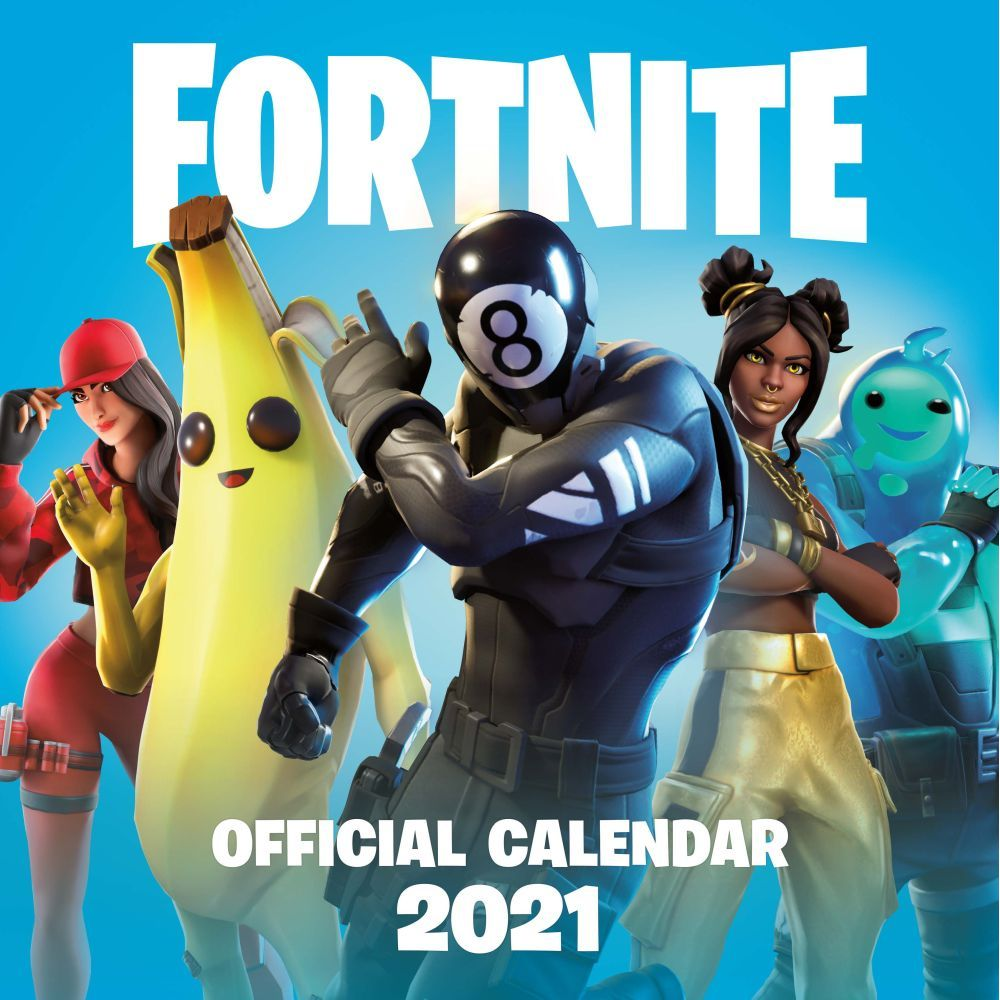 Top 2021 Fortnite Wall Calendar