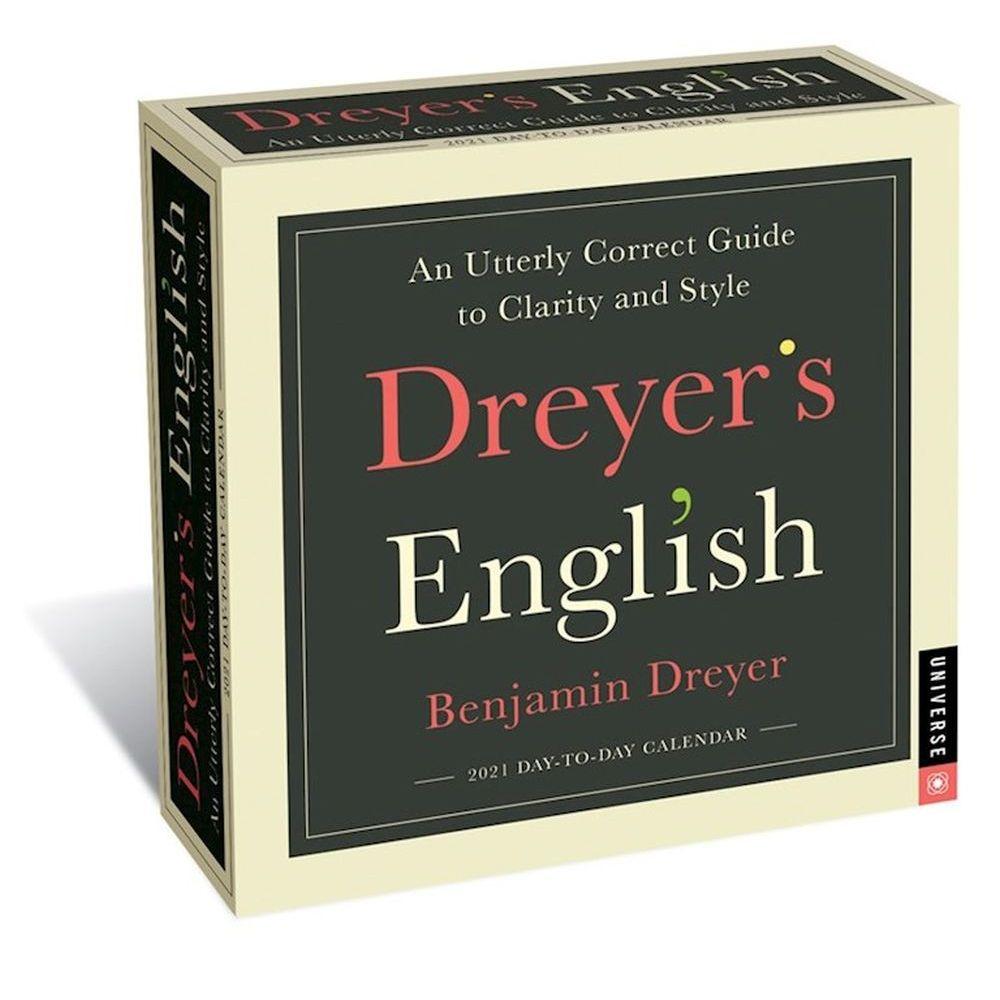 2021 Dreyers English Desk Calendar