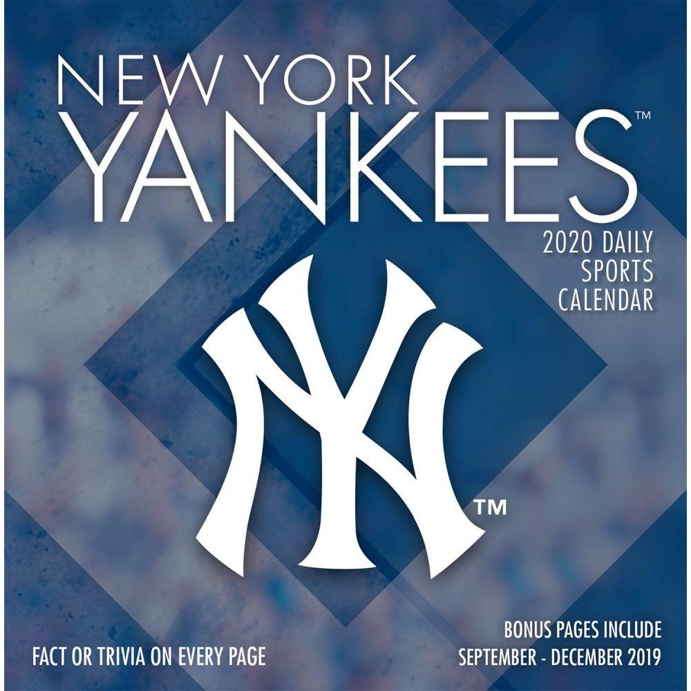New York Yankees 2021 Desk Calendar