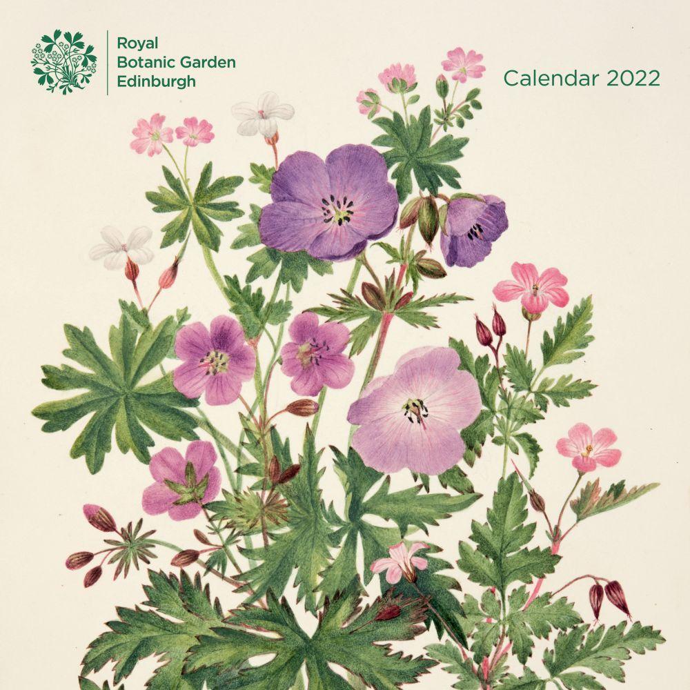 Royal Botanic Gardens Edinburgh 2022 Wall Calendar