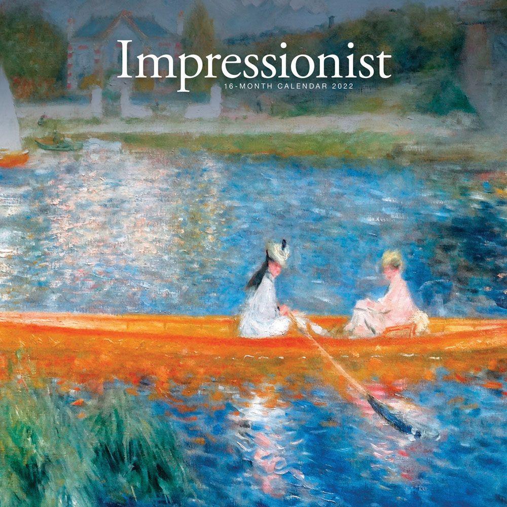 Impressionist 2022 Wall Calendar