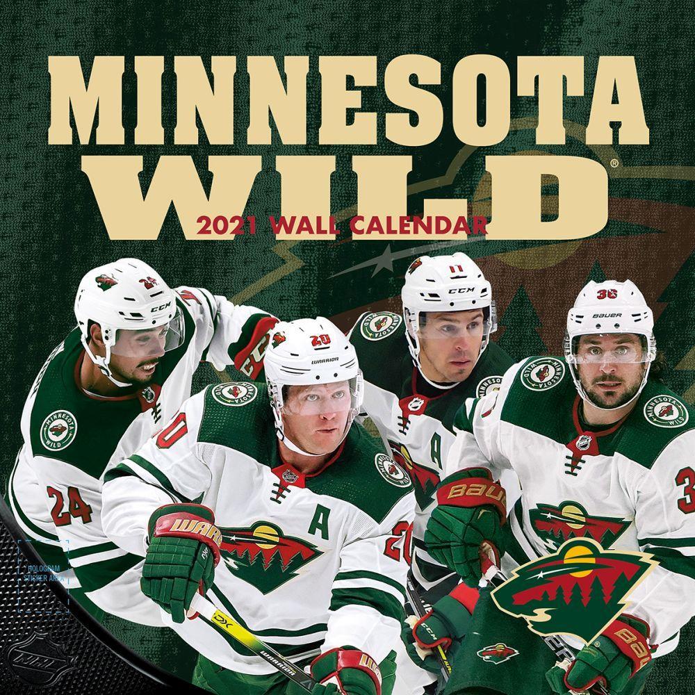 2021 Minnesota Wild Wall Calendar