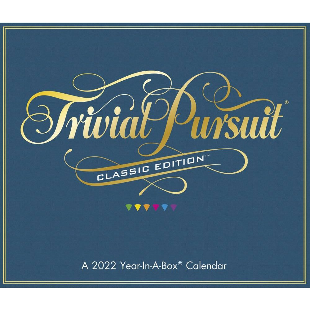 Trivial Pursuit 2022 Desk Calendar