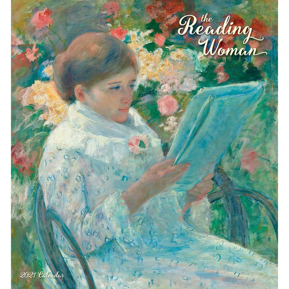 2021 Reading Woman Wall Calendar