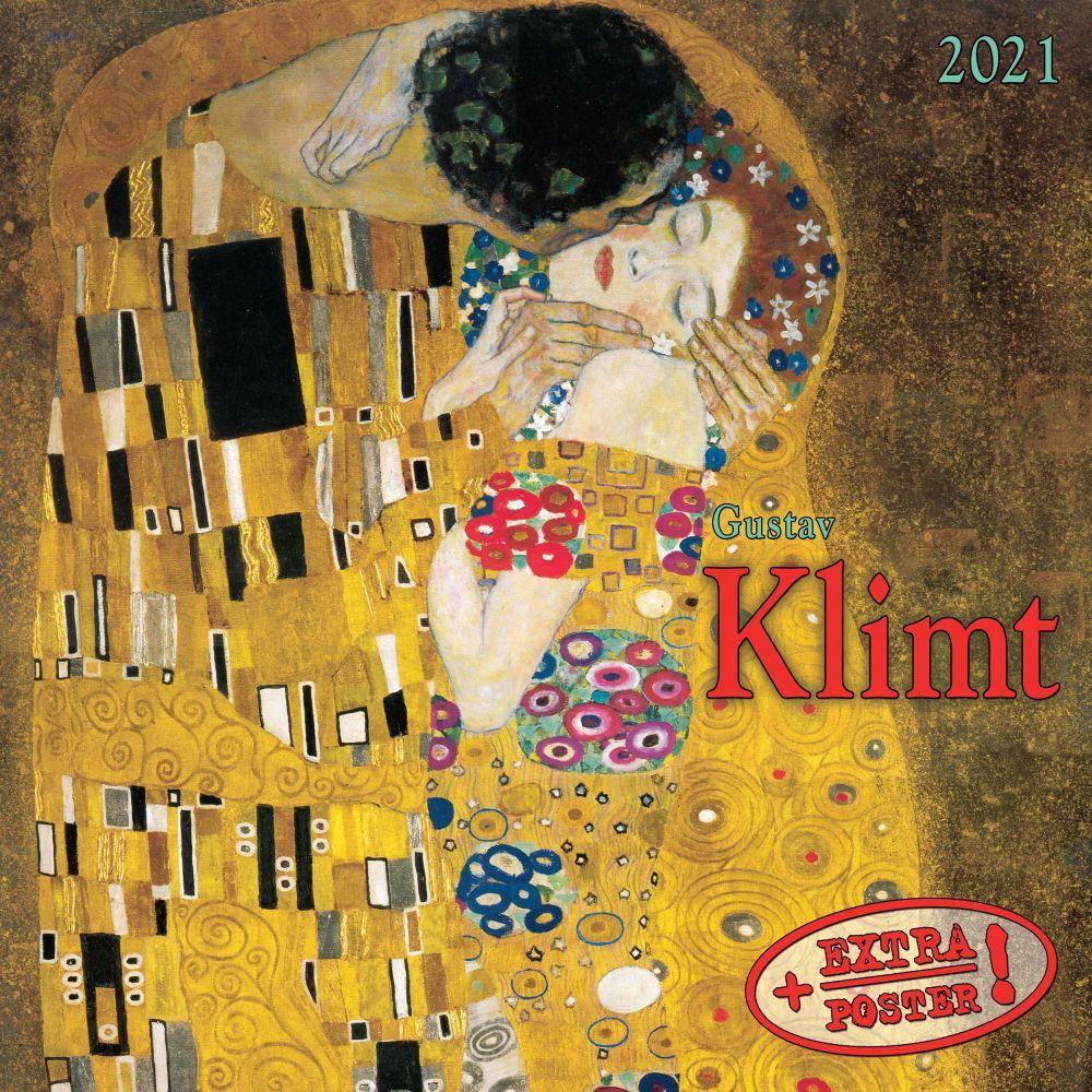 2021 Klimt Tushita Sm Wall Calendar