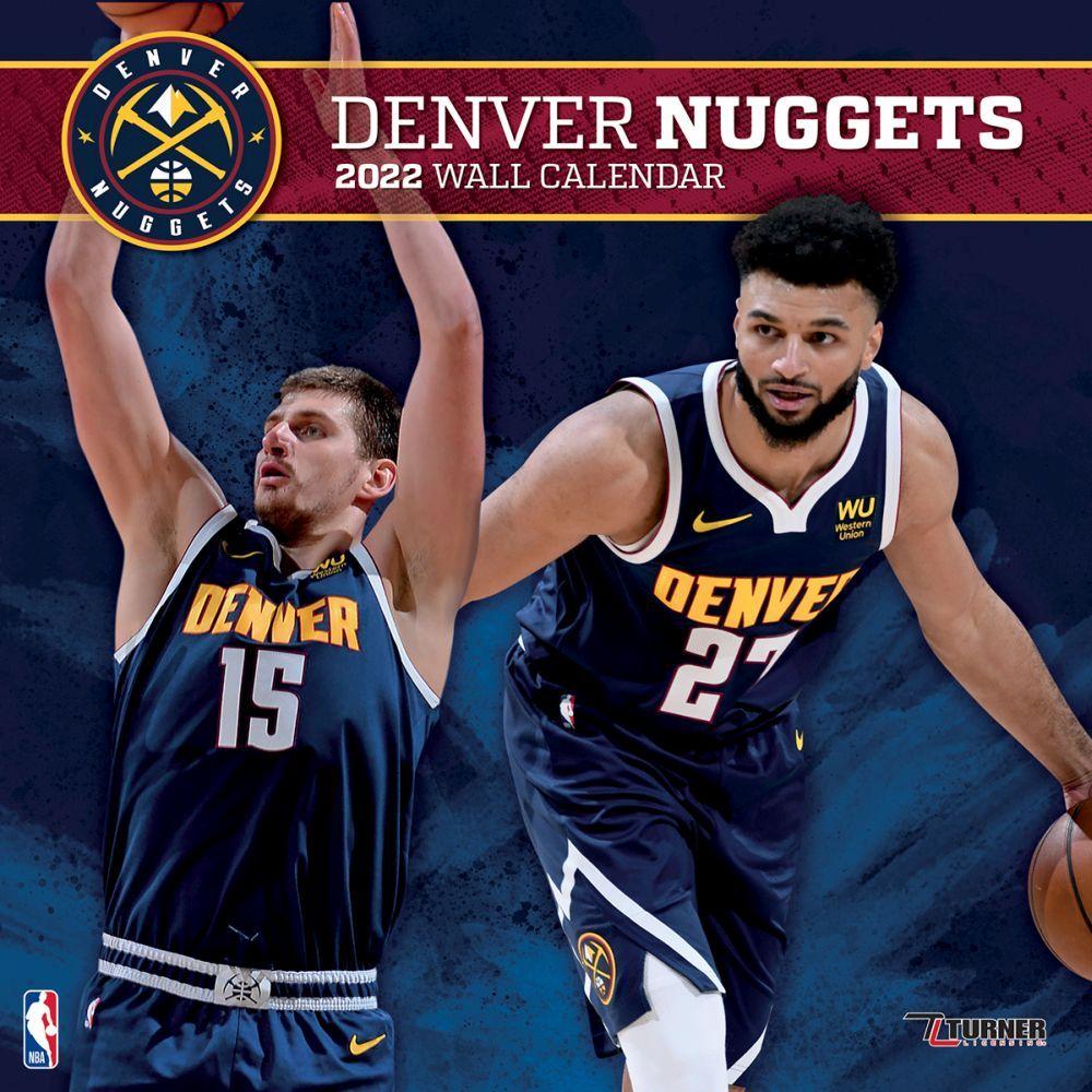 Denver Nuggets 2022 Wall Calendar