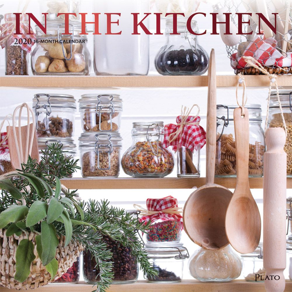 in the Kitchen 2021 Wall Calendar