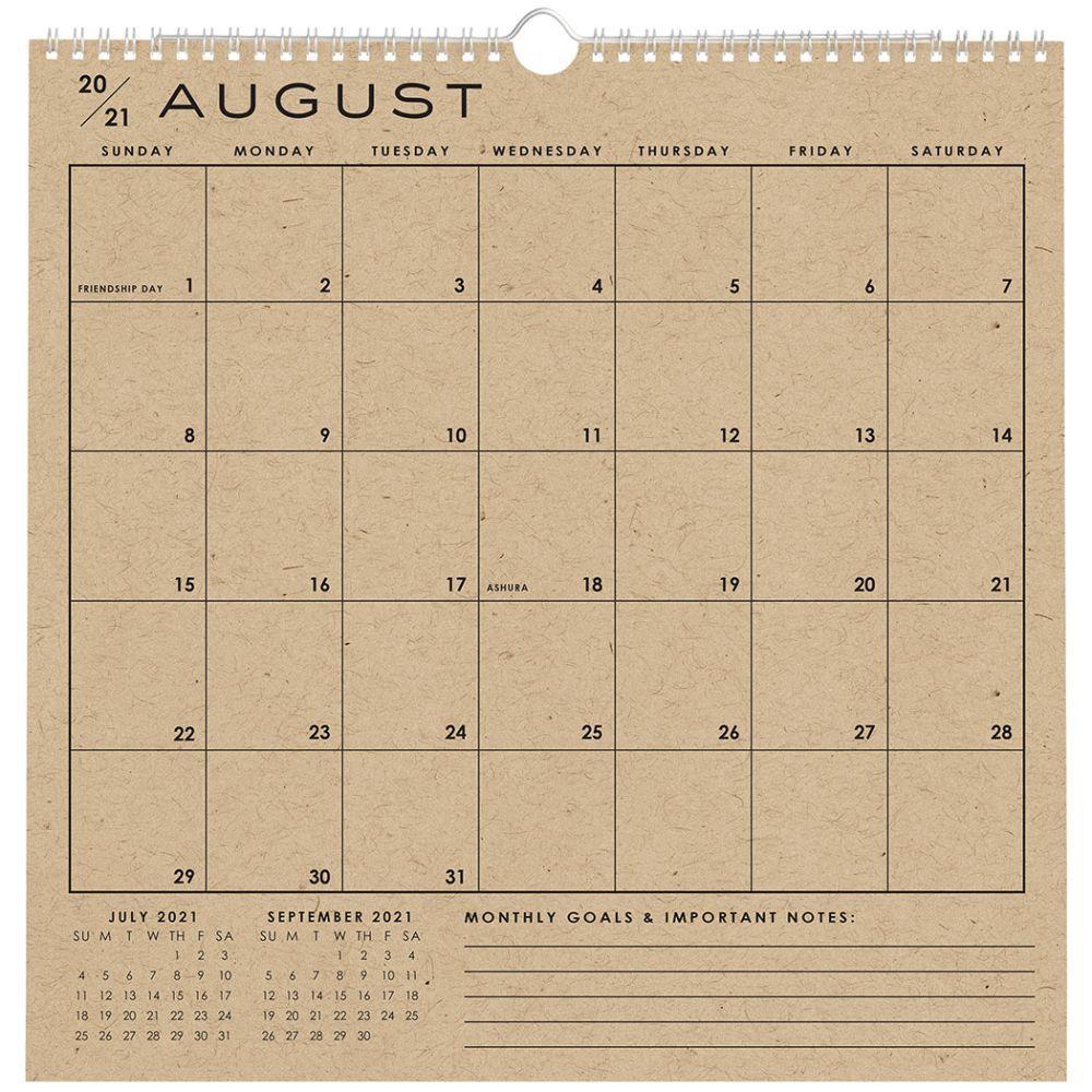 Classic Grid 2022 Wall Calendar