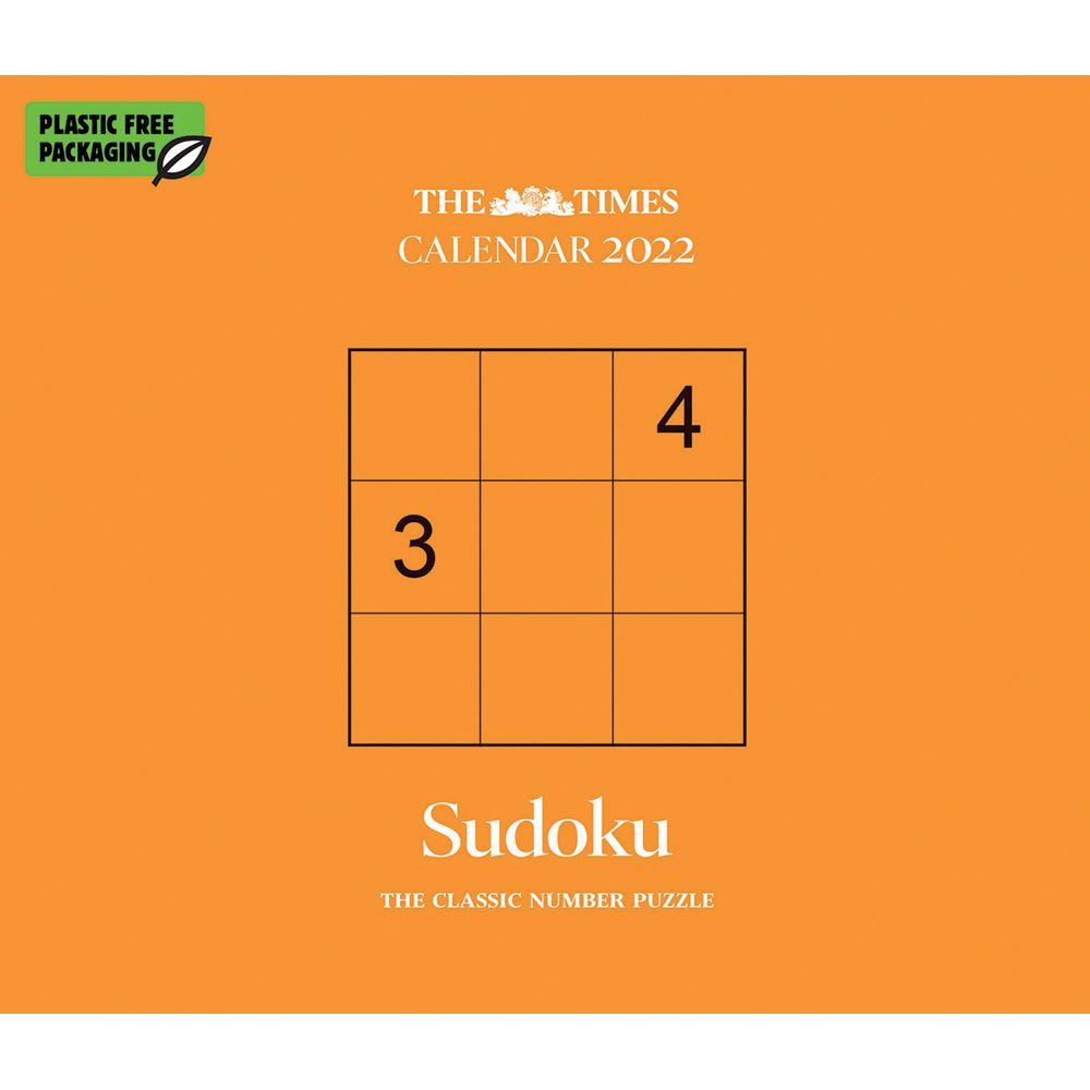 Sudoku 2022 Desk Calendar