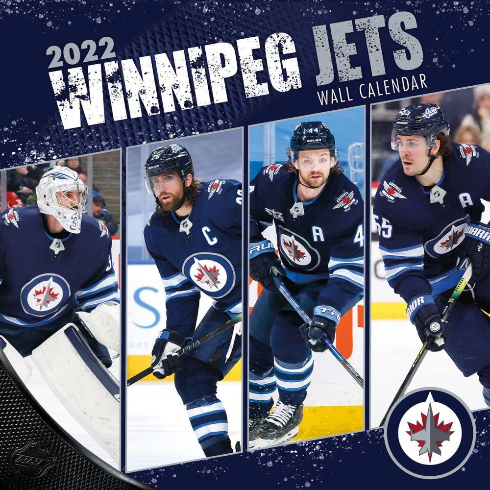 Winnipeg Jets 2022 Wall Calendar