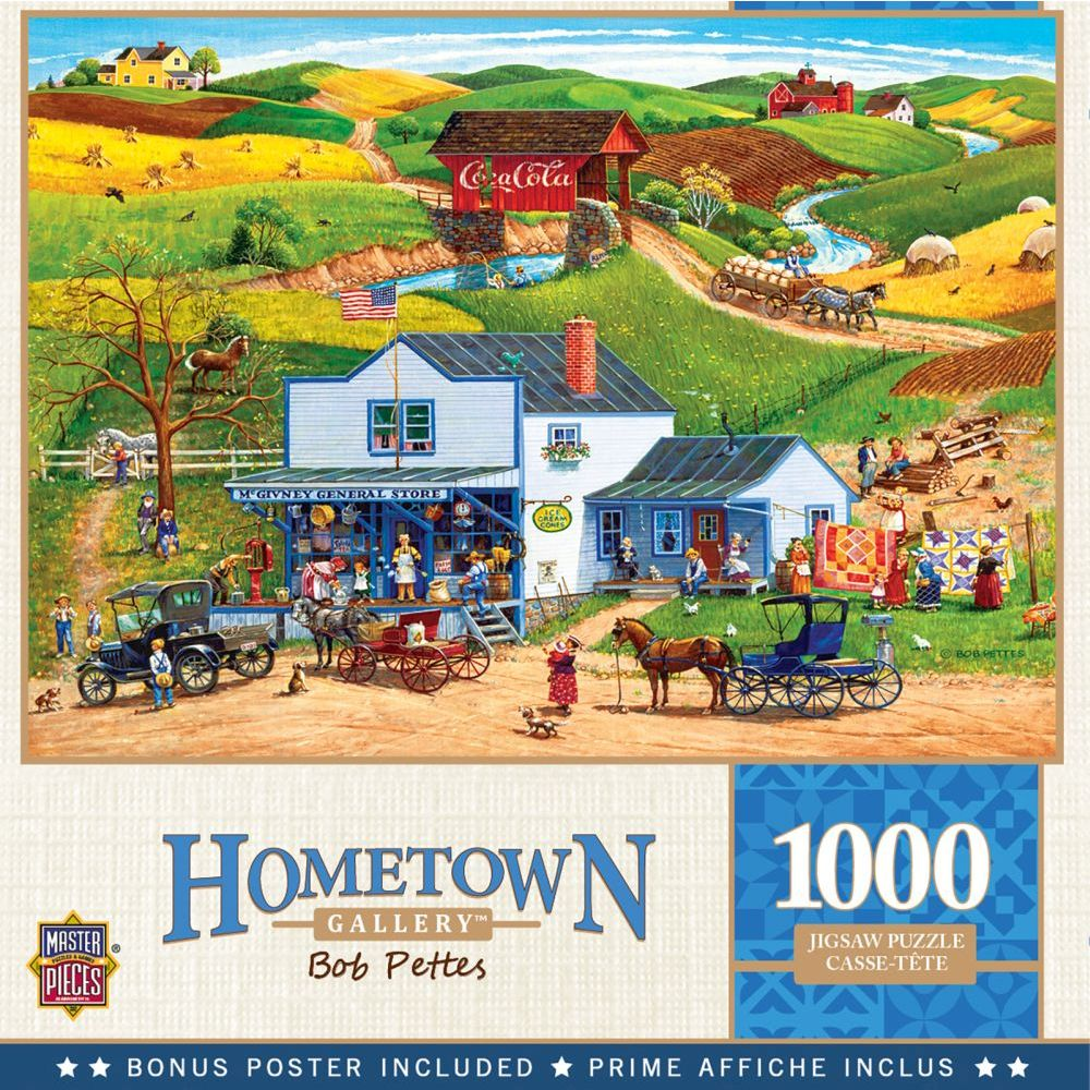 Best Hometown McGivney's Country Store 1000pc Puzzle You Can Buy