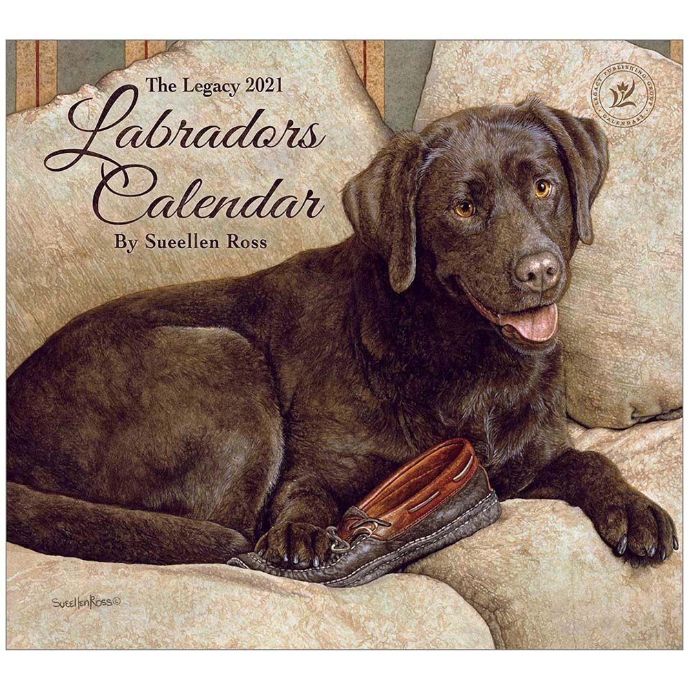 2021 Labradors Wall Calendar