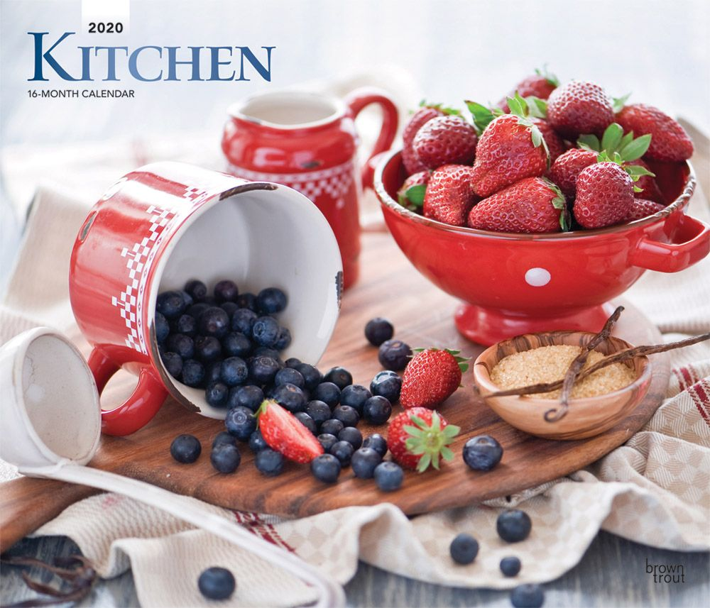 2021 Kitchen Deluxe Wall Calendar