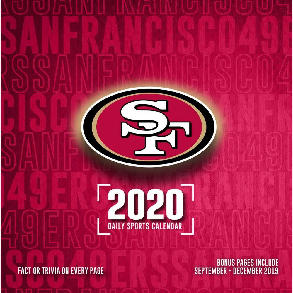 San Francisco 49ers 2021 Desk Calendar