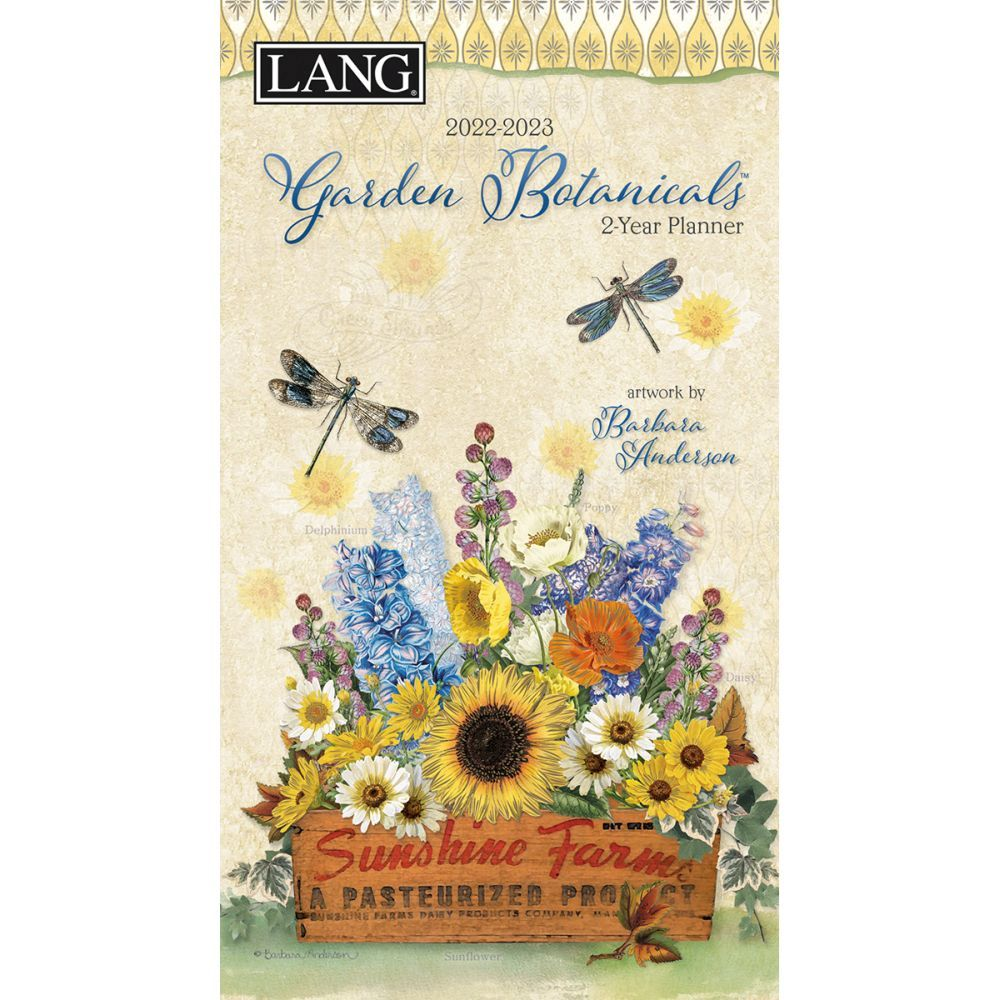 Garden Botanicals 2022 Two Year Planner