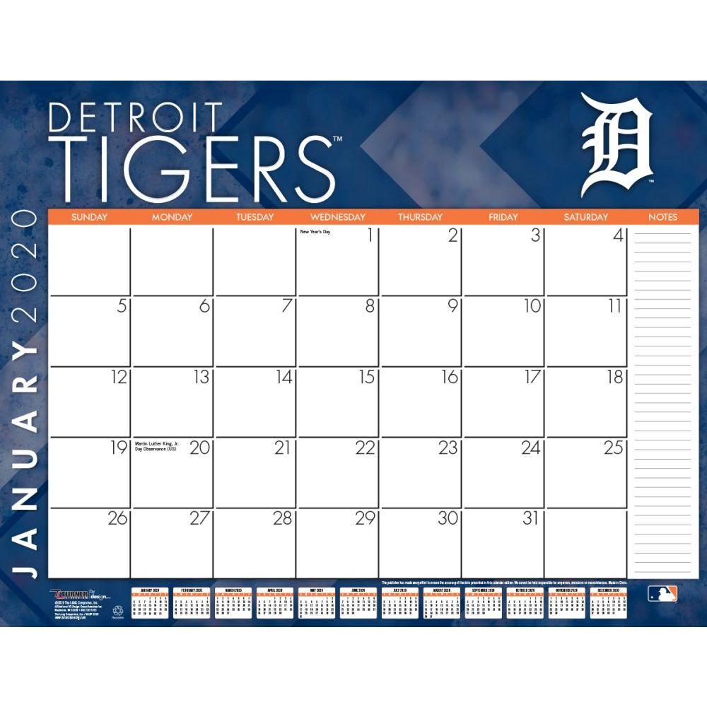 Detroit Tigers 2021 Desk Pad