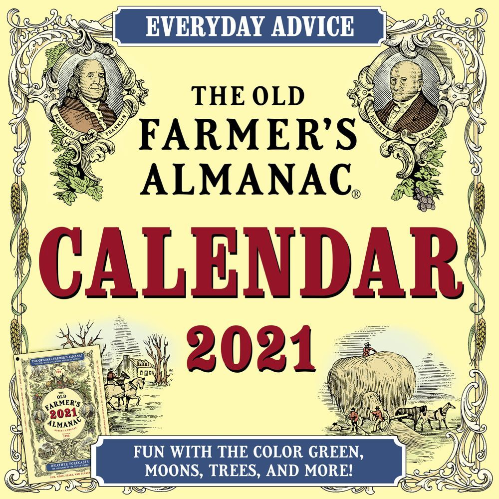 Old Farmers Almanac 2021 Wall Calendar